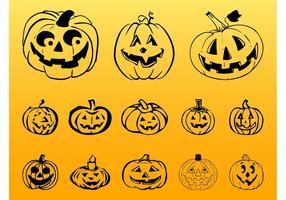 Gráficos de la calabaza de Halloween