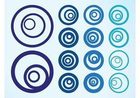 Abstracte cirkelgrafieken