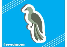 Bird Sticker Design