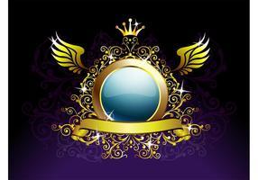 Koninklijke Achtergrond Sjabloon