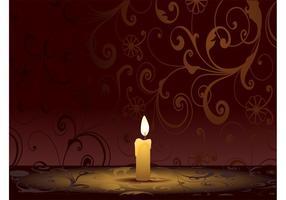 Graphiques de bougies allumées