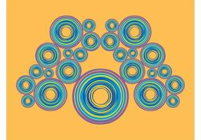 Colorful Circles Layout