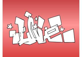 Liefde graffiti