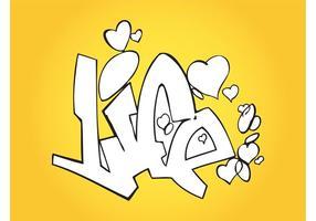 Älskar livet graffiti