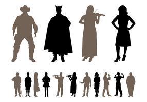 Mensen Silhouetten Design Pack