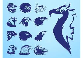 Eagle Heads Set