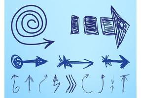 Desenhos de setas