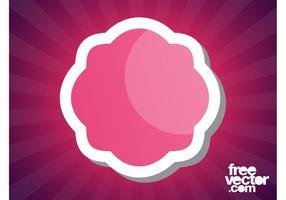 Pink Sticker Graphics