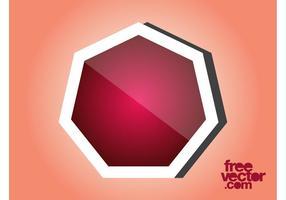 Vector Sticker Sjabloon