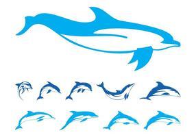 Dolphins Graphics Set