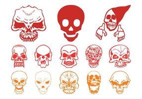 Skull Horror Set