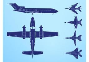 Flugzeuge Grafiken