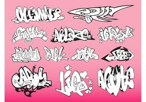 Pack Graffiti Pieces