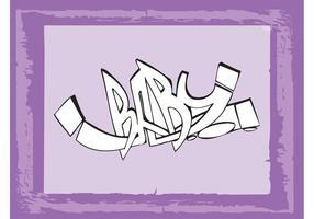 Graffiti del bebé