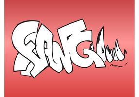 Vampire Graffiti Piece