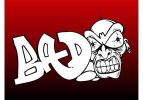 Bad Person Graffiti