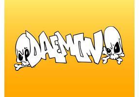 Daemon Graffiti