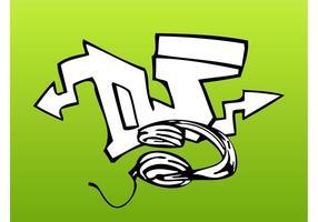 DJ Graffiti Stück
