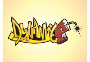 Dynamite Graffiti Piece