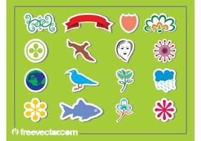 Sticker Graphics Set