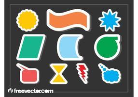 Kleurrijke Stickers