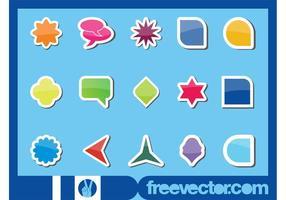 Shiny Stickers Set