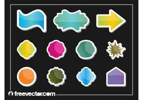 Shiny Sticker Set