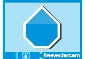 Blauwe Sticker Grafieken