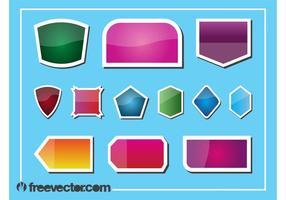 Stickers Vector Graphics