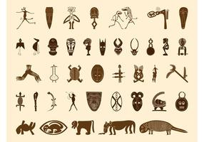African Symbols Graphics