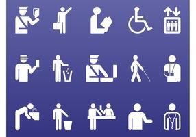 Pessoas Símbolos Gráficos