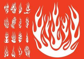 Flame Tattoos - Free Tattoo Designs