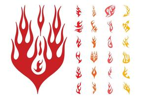 Flames Silhouettes