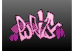 Purity Graffiti Piece