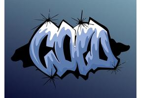 Cold Graffiti Piece