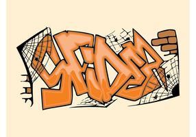 Spider Graffiti Piece