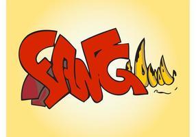 Fang Graffiti Piece