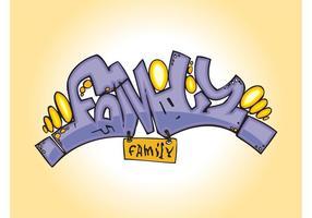 Family Graffiti Piece