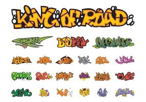 Graffiti Pieces Graphics