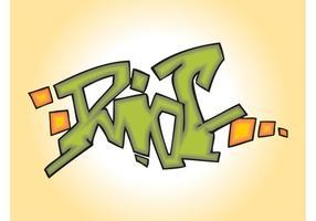 Piada de Graffiti Riotada