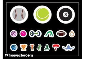 Sportsticker set