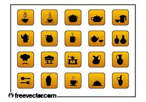 Food-and-drinks-icons-set