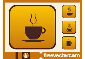 Iconos de tazas de café