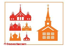 Churches Silhouettes