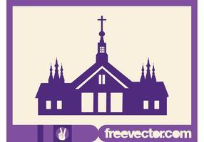 Church Silhouette Graphics