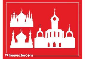 Orthodox Churches Silhouettes