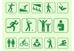 Person Symbols Set