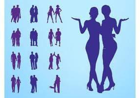People-in-couples-silhouettes