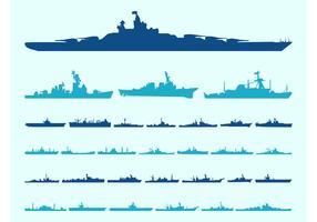 Schiff Silhouetten Grafiken