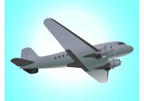 Fliegende Flugzeuggrafik